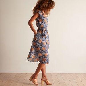 Anthropologie Odells Robles Wrap Dress